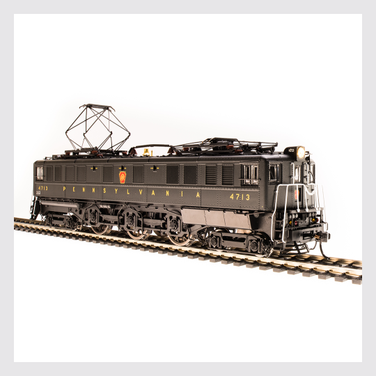 3825867325463 - Broadway Limited Imports Ho 4705 P5A Boxcab Electric Locomotive, Pennsylvania Railroad (Futura Lettering) #4713 (Paragon3 Sound/Dc/Dcc Equipped) - Rj's Trains