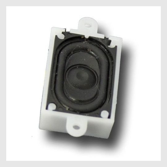 622100217879 - Esu 50330 4 Ohms Square Speaker With Sound Chamber, 16Mm X 25Mm - Rj's Trains