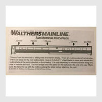 Walthers Mainline HO 910-30401 85' Budd Dome Coach, Amtrak (Phase 3)