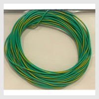 Soundtraxx 30AWG Wire 810147 - Green/Yellow Stripe