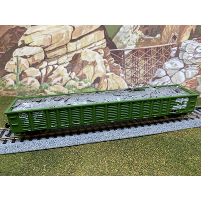 F&N Hobbies, 81711, HO Scale, Walthers 53' Gondola - Aluminum Load (Single)