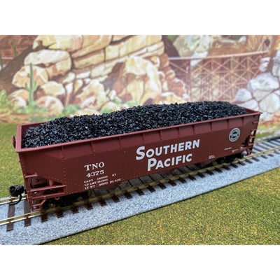 F&N Hobbies, 81409, HO Scale, Bowser/Stewart, 70 Ton 3 Bay Hopper - Coal Load (2-Pack)