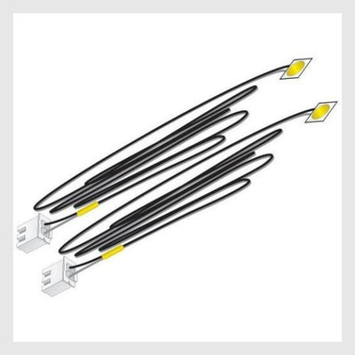 344466620439 - Woodland Scenics Jp5742 Just Plug Led Stick-On Lights Yellow (2Pcs) - Rj's Trains