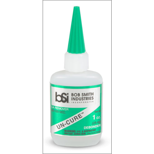 Bob Smith Industries, Un-Cure CA Debonder, 1 oz, BSI-158