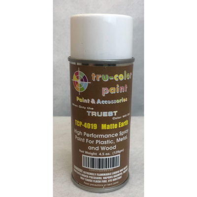 Tru-Color Paint, TCP-4016, Spray Paint, Matted Aged Rust, 4.5 oz