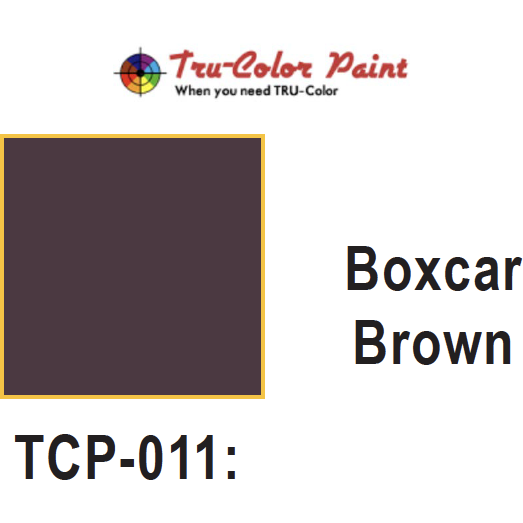 Tru-Color Paint, TCP-011, Airbrush Ready, BoxCar Brown, 1 oz