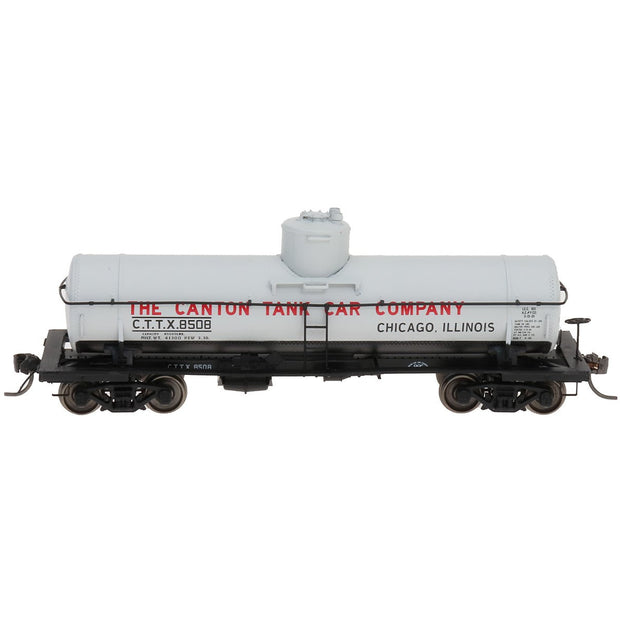 YesterYear Models, Y4604C-02, HO Scale, 8,000 Gallon Tank Car, Canton, Growers Express, #8085
