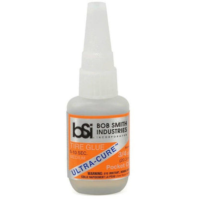 Bob Smith Indusries, Ultra Cure, Tire Glue Odorless Foam Safe CA Glue, BS-130
