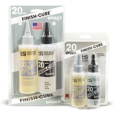 Bob Smith Indusries, BSI-209, FINISH-CURE, 20 Minute Epoxy