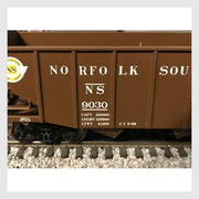 4170319560727 - Bowser Ho 42272 55-Ton Fishbelly Hopper, Norfolk Southern (Peaked End) #9030 - Rj's Trains