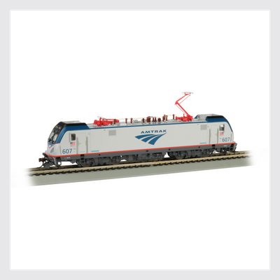 Bachmann HO 67401 Siemens ACS-64, Amtrak #607 (DCC and Sound Equipped)