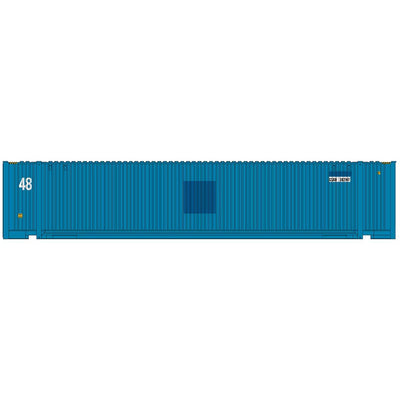 Intermountain 30556-01, HO 48' JINDO Container, CSX - APL Paint Out - CSXU, #281566/282147