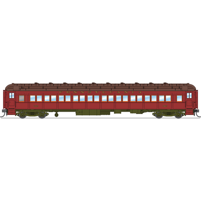 Broadway Limited, HO Scale, 6420, P70 Coach, 1931-1937 Era, Pennsylvania Railroad, (2-Pack A)