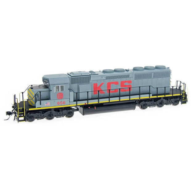 InterMountain HO 49332S-04, SD40-2 Locomotive With Sound, KCS #656