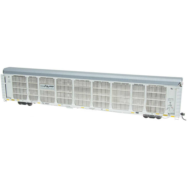 InterMountain, HO Scale, 45269-06, Bi-Level Auto Rack, Providence & Worcester, #102608