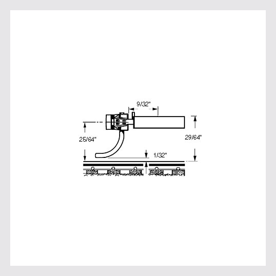 "1474500296727 - Kadee Ho 158 ""Scale"" All Metal Self-Centering ""Whisker"" Coupler Medium (9/32"") Centerset Shank - Rj's Trains"
