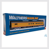 Walthers Mainline 910-30058, 85' Budd Baggage-Lounge - Union Pacific
