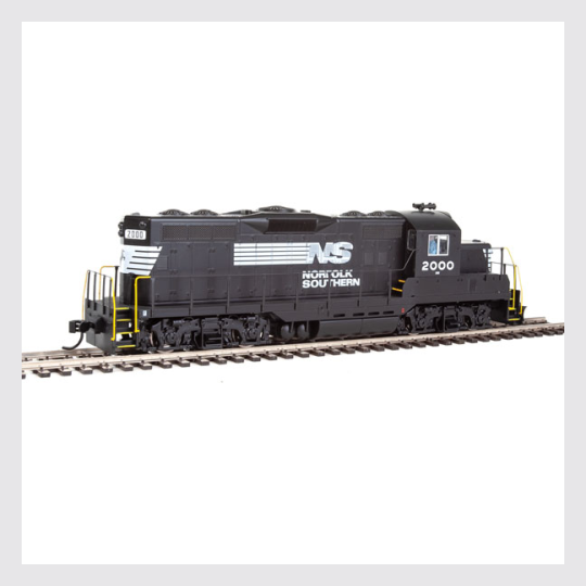 3399189692439 - Walthers Mainline Ho 910-10410 Emd Gp9 Phase Ii With Chopped Nose, Norfolk Southern #2000 - Rj's Trains