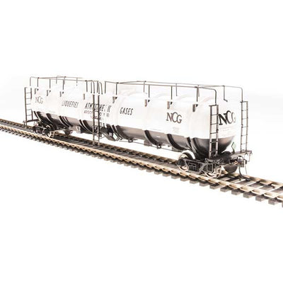 Broadway Limited, N Scale, 3726, Cryogenic Tank Cars, NCG, (2-Pack)