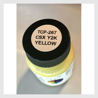 3487362056215 - Tru-Color Paint Tcp-267 Csx Safety Yellow (Original Color) 1 Oz - Rj's Trains