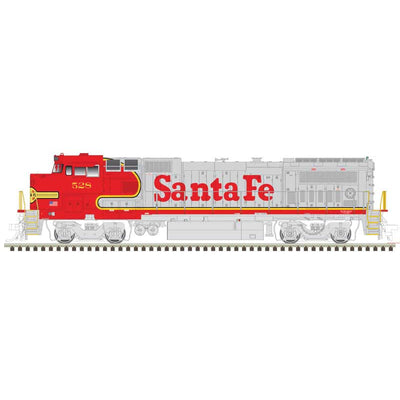 Atlas, HO Scale, 10003099, Master Line Gold Series, GE Dash 8-40BW, Santa Fe, #524, (DCC & Sound)