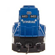 InterMountain HO 49344S-03, SD40-2 Locomotive With Sound, Conrail #6466