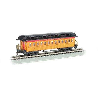 Bachmann, HO Scale,  15101, 1860-1880 Era Coach, Western and Atlantic, #63