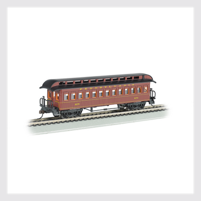 4372022001722 - Bachmann Ho 15102, 1860-1880 Era Coach, Prr - Rj's Trains