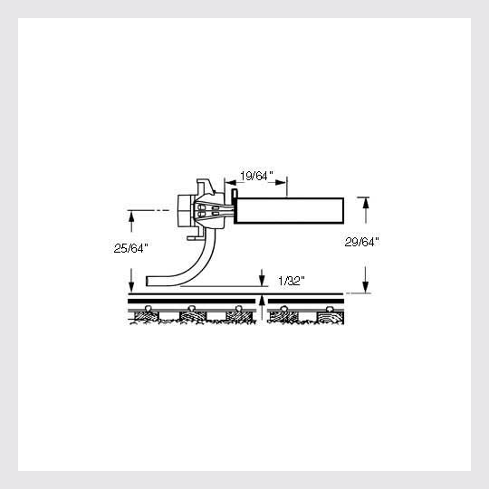 "462999158807 - Kadee Ho 119-25 Metal ""Se"" Shelf Whisker Coupler Medium (19/64"") Centerset Shank (25-Pack) - Rj's Trains"