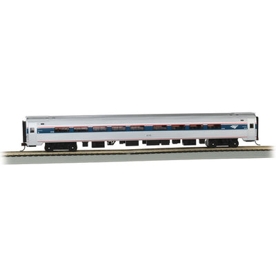 Bachmann, HO Scale, 13125, Amfleet I Coach Class, Amtrak, Phase VI, #43344