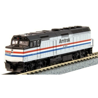 Kato, N Scale, 1766105-DCC, EMD F40PH, Amtrak (Phase III), #330 (DCC Equipped)