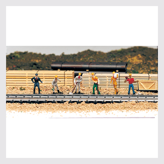 Bachmann HO 42341 Train Work Crew (6)
