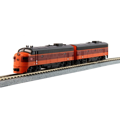Kato, N Scale, 106-0431, EMD FP7A/F7B, Set, Olympian Hiawatha-Milwaukee Road, (B-Unit with Winterization Hatch), #90A/90B