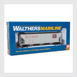 Walthers Mainline HO 910-7252 54' Pullman-Standard 4427 CD Covered Hopper, Chicago, Burlington & Quincy #85642