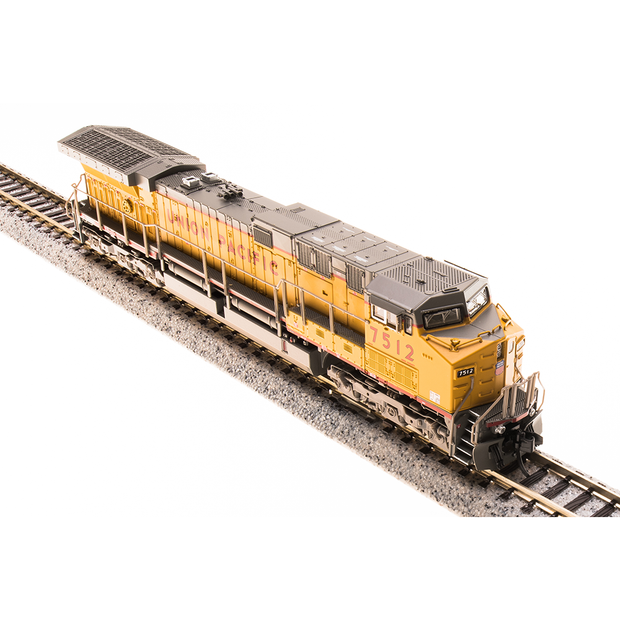 Broadway Limited,  N Scale, 3753, GE AC6000, Union Pacific, Yellow & Gray Scheme, #7562 (DCC & Sound)
