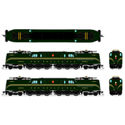 Broadway Limited Imports, HO Scale, 4688, GG1, PRR,DGLE, 5-Stripe, Buff Lettering & Stripes, Roman Lettering ,#4801, (Paragon3 Sound/DC/DCC Equipped)
