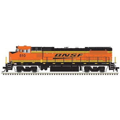 Atlas, HO Scale, 10003101, Master Line Gold Series, GE Dash 8-40BW, BNSF, #527, (DCC & Sound)