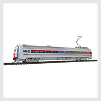 Walthers Proto HO 920-13801 Budd Metroliner Electric Multiple Unit (EMU) Snack Bar Coach, Amtrak #864 (Phase I)
