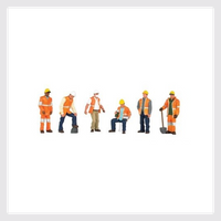 Bachmann HO 33106 Maintenance Workers (6)