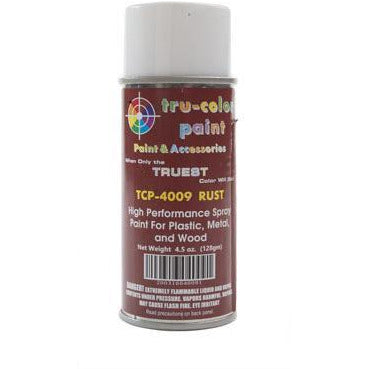 Tru-Color Paint, TCP-4009, Spray Paint, Rust, 4.5 oz