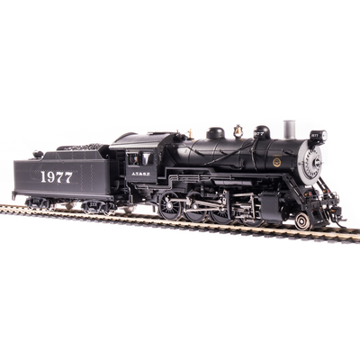 Broadway Limited, 6340, HO Scale, 2-8-0 Consolidation, ATSF, #1977, Paragon3 Sound/DC/DCC, Smoke