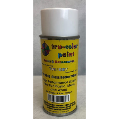 Tru-Color Paint, TCP-4018, Spray Paint, Gloss Reefer Yellow, 4.5 oz