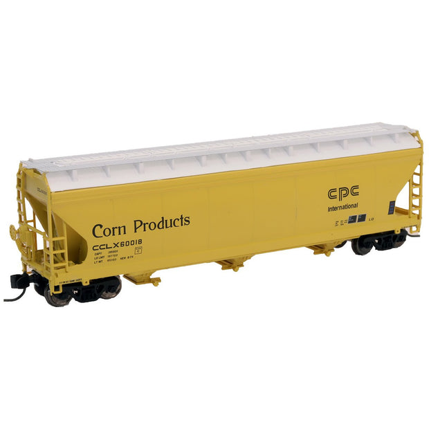 Intermountain, 67078, N Scale, 3-Bay Covered Hopper, Corn Products - CPC International