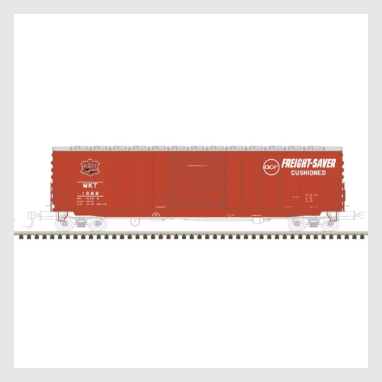 "1493653258263 - Atlas Master Line Ho 20004749 Acf 50' 6"" Precision Design Box Car, Missouri-Kansas-Texas #2046 - Rj's Trains"