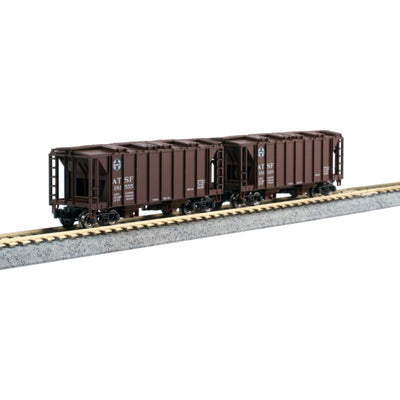 Kato, 106-4700, N Scale, Covered Hopper, (8 car set)