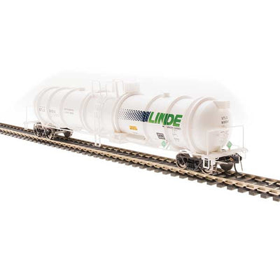 Broadway Limited, N Scale, 3724, Cryogenic Tank Cars, Linde, (2-Pack)