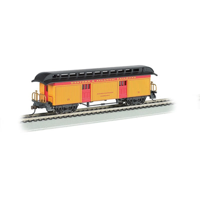 Bachmann, HO Scale,  15301, 1860-1880 Baggage Car, Western and Atlantic, #11