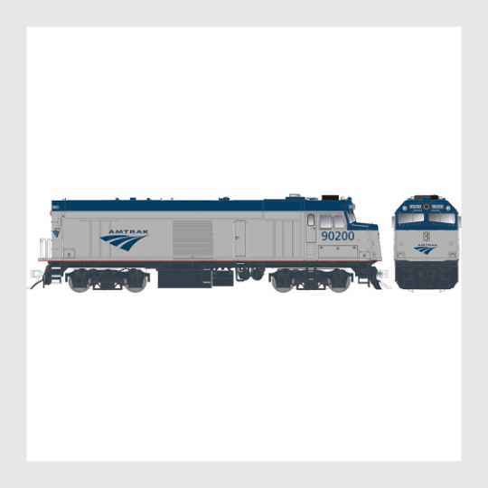Rapido HO 81008 Converted F40PH