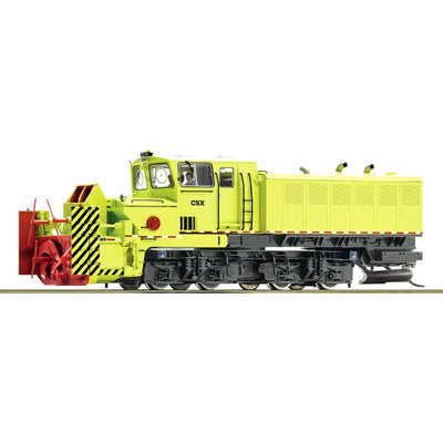 Roco, HO Scale, 72803, Self-Propelled Beilhack Rotary Snow Blower, CSX, (DCC Sound Decoder)