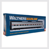 Walthers Mainline HO 910-30101 85' Budd 10-6 Sleeper, Amtrak (Phase 3)